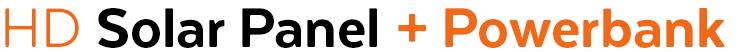 HD SolarPanel + Powerbank